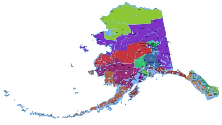 Alaska-Redistricting